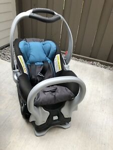 Car seat with base (part of expedition travel system).