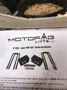 Ford parts, new levelling kit, running boards, grill, tires
