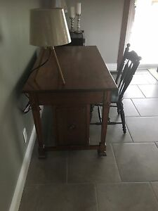 Antique reading table