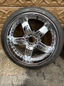 20 Inch Baccarat Rims and Tires