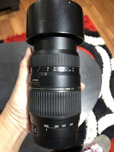 Tamron 70- 300 mm macro lens for Canon