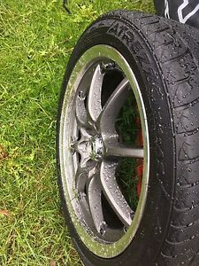 4  bolt 17 in.  Rims for sale