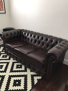 3-seater Chesterfield couch/sofa Morley Bayswater Area Preview