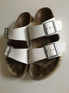 Birkenstock blanches taille7
