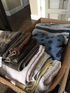Towels and sheet