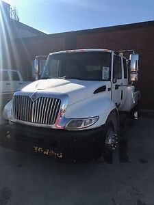 2007 international ex cab tow truck