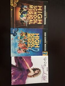 High school musical and Taylor swift piano books