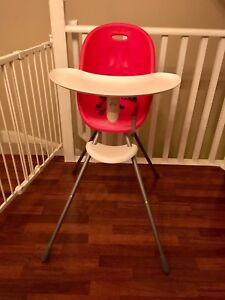 Phil & Ted's Poppy High Chair (Red/ cranberry)