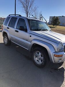 2003 Jeep Liberty limited edition!