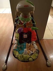 Fisher Price Baby Swing Chair - Zoo Safari theme Helensvale Gold Coast North Preview