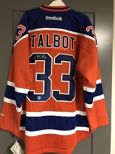Signed Cam Talbot Jersey