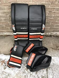 Brians Gnetik 2 Pads 34+2.5 with blocker and 2 CCM Pro gloves