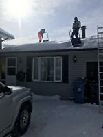 Rooftop Snow Clearing