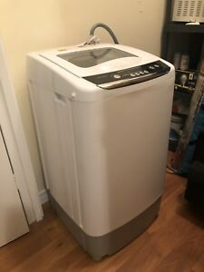 Apartment Size Washer and Ventless Dryer