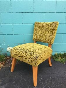 Funky retro accent chair