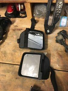 Mirror Extensions for Jeep Wrangler mirrors.