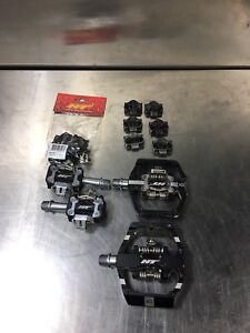 HT Duo and HT M1 Pedals with Extra Cleats