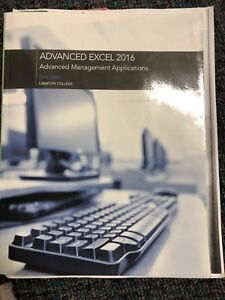 Excel 2016 textbook + Project 2016 + times writings