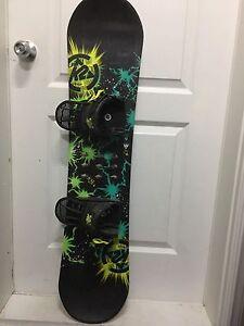 Kit snowboard enfant botte snow et fix
