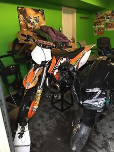 2012 ktm 250 sx show room condition