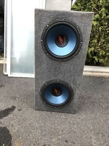Subwoofer 12 pouces / marque Kenwood / 500 watts