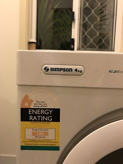 Simpson Dryer 4kg