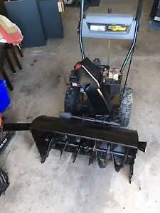 Yard works snow blower