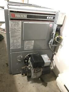 Brock forced air oil furnace - great condition