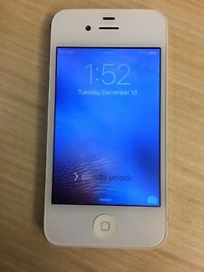 iPhone 4S White Unlocked 16GB Great Condition