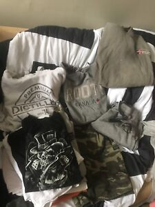 Lot of men's work clothes
