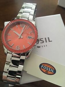 New authentic Fossil watch