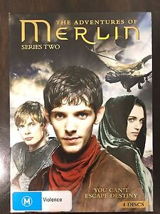 MERLIN  Series 2 - DVD X  4 Anula Darwin City Preview