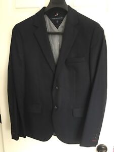 Men's navy casual blazer-jacket