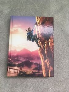 Zelda Breath of the Wild Offical Collectors Edition Guide Book