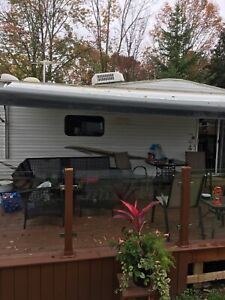 Power RV Awning