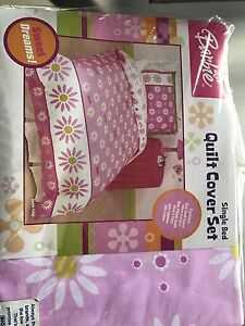 Barbie single quilt cover set (NEW) Keinbah Cessnock Area Preview