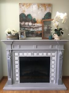 Refinished Dimplex electric fireplace