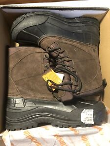 DS North Side Waterproof Rubber Sole Winter Boot, Size 11