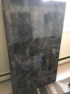 Faux granite dining room table or desk