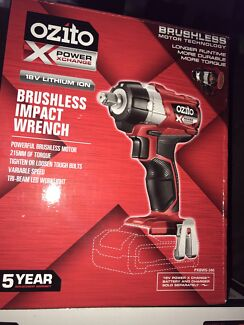Ozito cordless drill / charger and brushless wrench