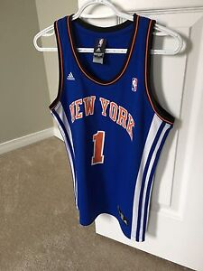 ADIDAS NEW YORK KNICKS JERSEY-STOUDEMIRE-NEW!