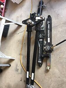 """Husky 2"""" tow hitch with torsion bars and sway control"""