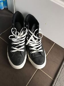Converse leather shoes size 9.5