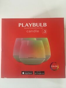 PLAYBULB 3 pack almost brand new