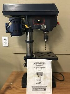 "10"" bench drill press - Moving"