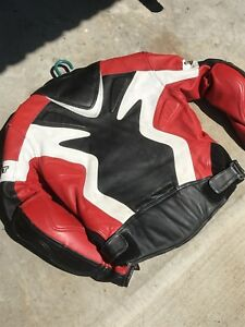 Joe Rocket motorcycle leather jacket