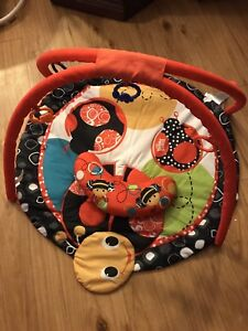 Lady bug tummy time mat and gym - gone pending pickup