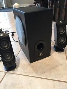 Logitech surround 5.1 speakers