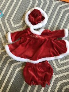 Mrs Claus Christmas costume for 0-3mth old baby