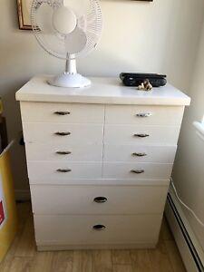 Dressers and Headboard
